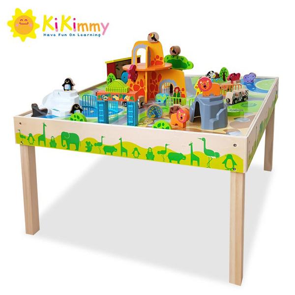 K372 Kikimmy動物城市木製遊戲桌【德芳保健藥妝】