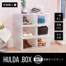 【收納職人】赫爾達前拉式整理箱/置物箱/整理盒(17L/6入)/H&D東稻家居