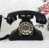 派拉蒙1929英國皇室 歐式仿古電話機座機復古家用【按鍵款】