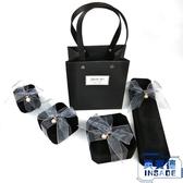 高檔絨布項鏈戒指手鐲手鏈吊墜表求婚首飾禮品包裝【英賽德3C數碼館】