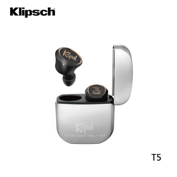 【領卷折200+限時特賣+24期0利率】Klipsch 古力奇 無線耳機 T5 True Wireless 公司貨