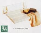 【麗室衛浴】 蒸氣.淋浴專用摺疊淋浴椅  G-050  白色 W32*D32cm