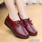 皮鞋中老棉鞋女冬季加絨皮鞋防滑防水PU棉鞋老北京布鞋冬季媽媽棉鞋 快速出貨