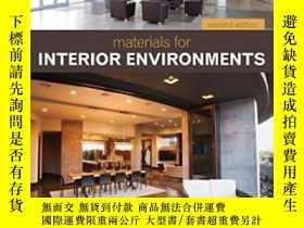 二手書博民逛書店Materials罕見For Interior Environments-室內環境材料Y436638 Cork