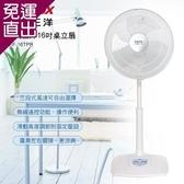 台灣三洋SANLUX 16吋桌立扇 EF-16TPR【免運直出】