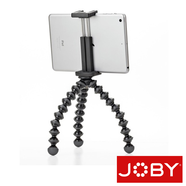JOBY JB27 金剛爪小型平板夾腳架 GripTight GorillaPod Stand for Smaller Tablets JB01328 (台閔公司貨)