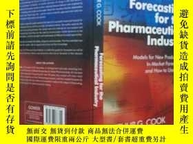 二手書博民逛書店Forecasting罕見for the Pharmaceutical Industry(英文原版)Y2435