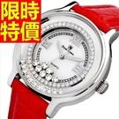鑽錶-大方優雅百搭鑲鑽女手錶6色62g1...