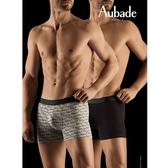 Aubade man-舒棉M-XL平口褲(AUBADE2件組)
