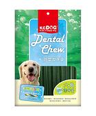 寵物家族-K.C.DOG蔬菜潔牙骨-六角型(葉綠素+雞肉)300公克(G31-3)