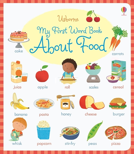 My First Word Book About Food 我的食物學習書