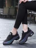 運動鞋女新款氣墊春秋款跑步鞋女鞋輕便透氣媽媽鞋老北京布鞋女鞋