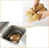 asdfkitty 可愛家~賠錢  貝印長條麵包矽膠模型熱狗麵包模一般烤箱跟製麵包機 用
