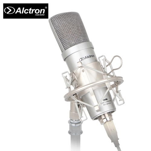 【敦煌樂器】ALCTRON UM100 專業USB電容錄音麥克風