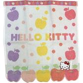 【波克貓哈日網】Hello kitty 凱蒂貓方巾◇蘋果圖案◇《33 x 35cm》