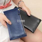 長夾女 新款歐美大牌超薄女式錢包錢夾女士長款信封錢包零錢包手包潮 卡菲婭