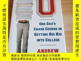 二手書博民逛書店Crazy罕見U: One Dad's Crash Course