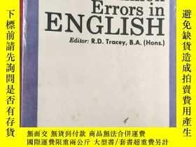 二手書博民逛書店Correcting罕見Common Errors in ENG