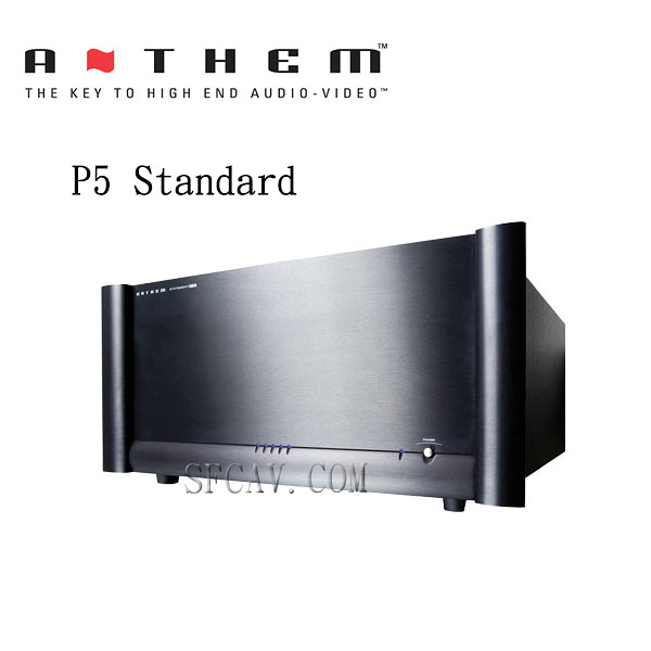 【竹北勝豐群音響】Anthem P5 Standard 後級擴大機