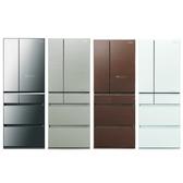 Panasonic國際牌600公升六門變頻冰箱NR-F604HX-X1鑽石黑