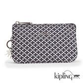 Kipling 簡約菱格零錢包-小-CREATIVITY L