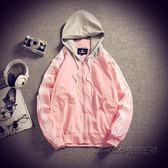 秋季新款男士夾克休閒外套連帽衫青年運動棒球服韓版寬鬆春秋裝潮 後街五號