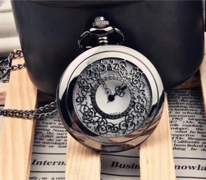 懷錶 創意百搭懷舊清晰數字懷表掛飾 項鍊表 情侶男女學生同學禮物贈品【快速出貨八折搶購】