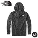 【The North Face 男 防風連帽外套《瀝青灰》】4U8X/輕薄防曬透氣排汗外套/夾克風衣/連帽外套