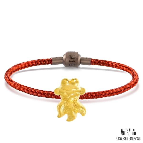 點睛品 Charme 文化祝福 年年有餘 黃金串珠
