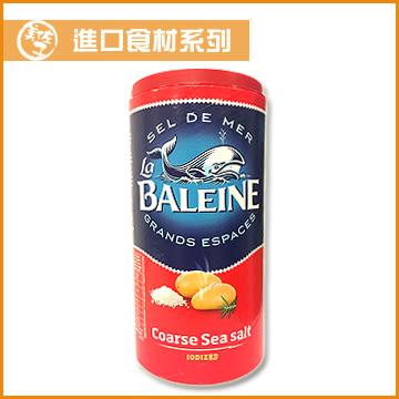 【美佐子MISAKO】進口食材系列-La BALEINE Fine Sea Salt 法國鯨魚牌紅罐粗海鹽 500g