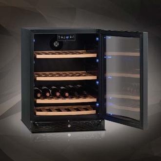 【零利率】法國 Vinvautz 名望 VZ46ABT 弧型拱門系列 單溫區酒櫃(46瓶)