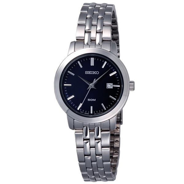 SEIKO 復刻華麗日期都會腕錶-SUR829P1