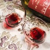 紅酒杯 創意不倒翁洋2個套裝家用小號歐式水晶玻璃洋威士忌 - 古梵希