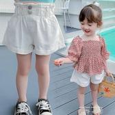 女童短褲夏裝2020新款夏季時尚韓版洋氣寶寶兒童寬鬆網紅休閒褲子 米娜小鋪