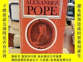 二手書博民逛書店The罕見Poems of Alexander Pope: A reduced version of the Tw