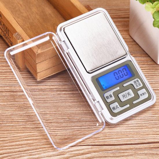精準 廚房 家用 實驗 磅秤 實用 輕巧 便攜迷你口袋電子秤 (非供交易使用)【X024-2】生活家精品