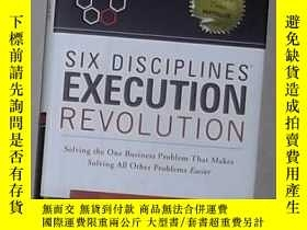 二手書博民逛書店英文原版罕見Six Disciplines Execution