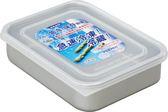 日本【AKAO】淺型鋁合金保鮮盒M