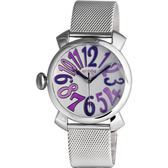 LICORNE entree 繽紛季風靡時尚米蘭腕錶(紫色)