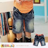 牛仔短褲 魔法Baby