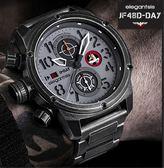 【萬年鐘錶】elegantsis 限量錶 二戰 紀念諾曼第戰役 德軍步兵師套款  48mm JF48D-D-DAY