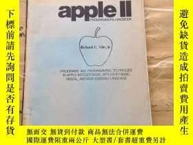 二手書博民逛書店Apple罕見II Programmers HandookY252403 Richard Vile Harpe
