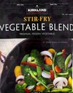 [COSCO代購] W1146473 Kirkland Signature 科克蘭 冷凍綜合蔬菜 2.49KG 兩入