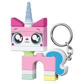 《 樂高積木 LEGO 》樂高玩電影2 - 獨角貓鑰匙圈燈╭★ JOYBUS玩具百貨