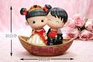 一定要幸福哦~~幸福啟航(大)安床娃娃,結婚用品,婚俗用品