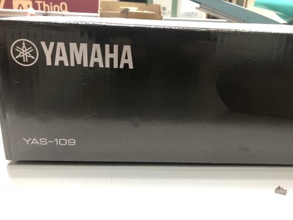 (福利品.僅一台) YAMAHA 山葉 藍牙 無線 聲霸 SoundBar YAS-109 公司貨