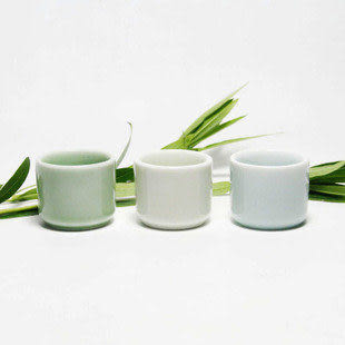 龍泉青瓷 玉指茶杯