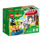 樂高積木 LEGO《 LT10870 》2018 年 Duplo 幼兒系列 - 農場動物 ╭★ JOYBUS玩具百貨