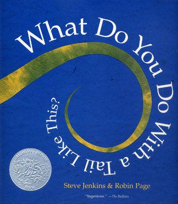 【麥克書店】WHAT DO YOU DO WITH A TAIL LIKE THIS /英文繪本附CD
