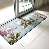 廚房地墊地毯長條吸水除油防滑墊子臥室家用墊廚房墊門墊防油腳墊『櫻花小屋』